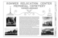 Title Sheet - Rohwer Relocation Center Memorial Cemetery, Arkansas Highway -1, Rohwer, Desha County, AR HALS AR-4 (sheet 1 of 6).png