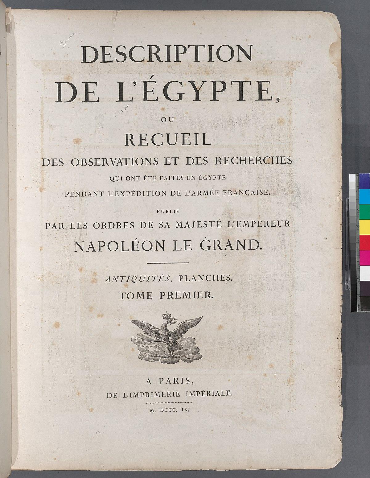 Description de l'Égypte - Viquipèdia, l'enciclopèdia lliure - photo#33
