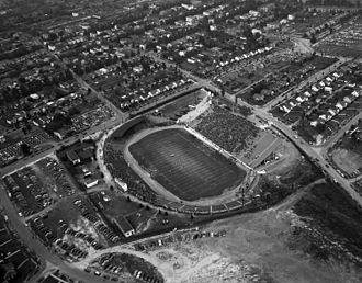 City Stadium (Richmond) - Tobacco Bowl football game in 1949