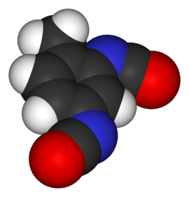 Toluene-2,4-diisocyanate-3D-vdW.png