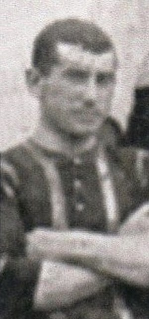 Tom McAllister (footballer) - McAllister while with Brentford in 1907.