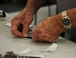 Tools to pencils, Airman makes career a work of art 141110-F-PO402-032.jpg