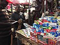 Toothpaste vendor at the Kaneshie market.jpg