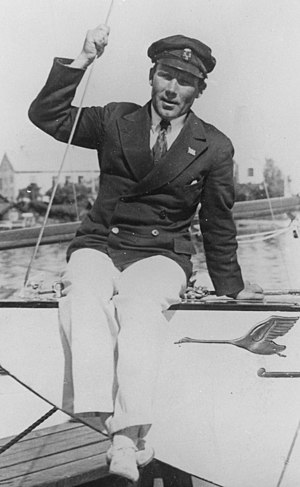 Tore Holm - Tore Holm on Princess Svanevit in Stockholm in 1931