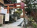 Torii of Shimekake Inari Shrine in Kushida Shrine.jpg