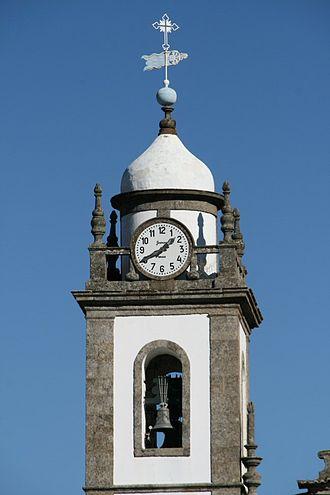 Mesão Frio - The clock/bell tower of the medieval Church of São Nicolau