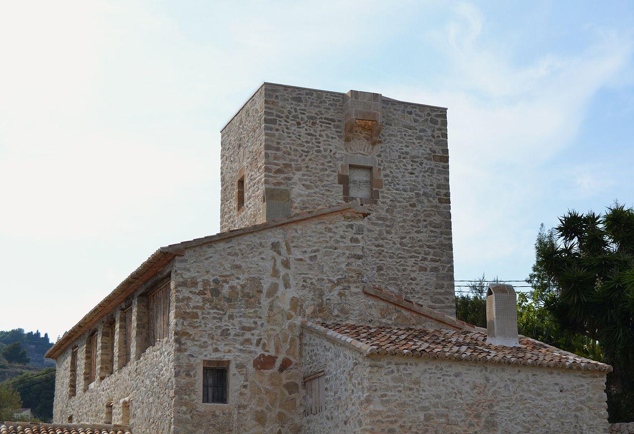 File torre defensiva de la casa del tros de les calcides - Casas en benissa ...