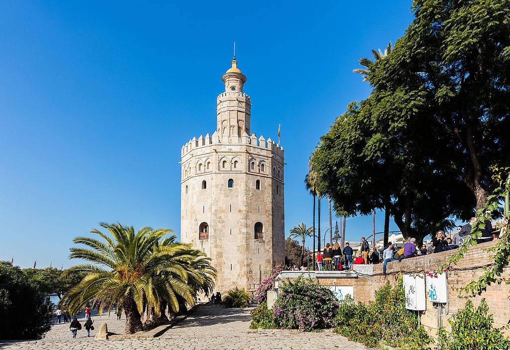 Torre del Oro à Séville - Photo de Diego Delso, delso.photo, License CC-BY-SA