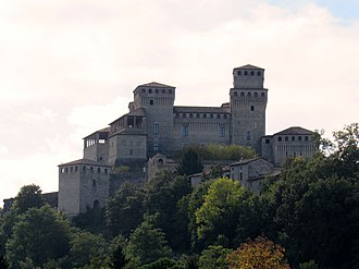 Ladyhawke (film) -  Torrechiara, province of Parma, the movie's Castle