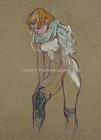 Toulouse-Lautrec - FEMME QUI TIRE SON BAS, 1894, MTL.177.jpg