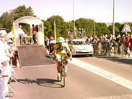 Noan Lelarge in de Tour de l'Ain 2009