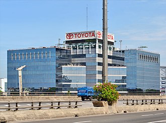 Automotive industry in Indonesia - Toyota-Astra Motor in Jakarta