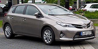 Toyota Auris Compact car model from Toyota