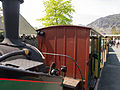 Train at Blanaeu Ffestiniog (7819473610).jpg