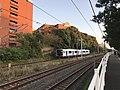 Train of Kashii Line near Kyushu Sangyo University 10.jpg