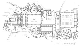 Trajan's Forum - Plan of Trajan's Forum