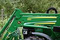 Traktor John Deere 5080 R und Frontlader John Deere 583 001.JPG