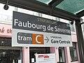 TramStrasbourg lineC FbgSaverne Signalétique.JPG