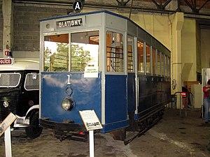Trams in Versailles - Preserved tram