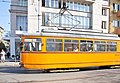 Tram in Sofia near Central mineral bath 2012 PD 014.jpg