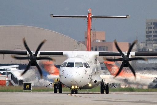 Transasia Airways ATR72-212A(B-22803) (4351371277)
