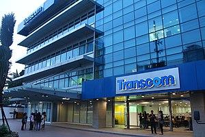 Transcom WorldWide - Transcom Asia building in Metro Manila