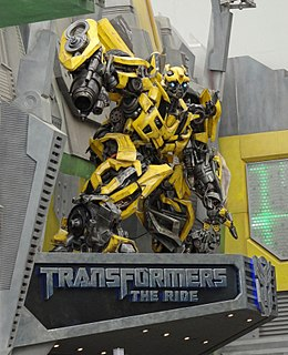 Transformers: The Ride 3D amusment ride