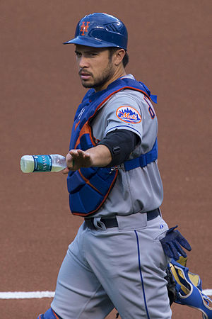 Travis d'Arnaud - d'Arnaud with the New York Mets in 2015