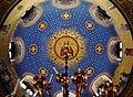 Trieste Tempio serbo-ortodosse della Santissima Trinità e di San Spiridone Innen Cupola 3.jpg