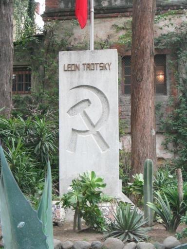 Trotsky grave