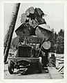 Truck loaded with logs (13584115934).jpg