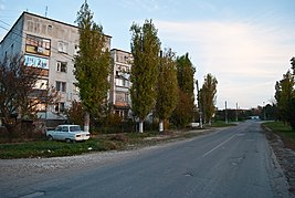 Trudovoye (Simferopol district) main street.jpg