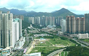 Hong Kong Velodrome - Tseung Kwan O Velodrome site in 2006.