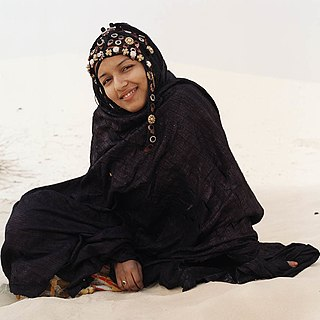 A Tuareg woman