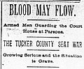 Tucker County Seat War Headline 1893.jpg