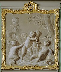 Bacchus with putti
