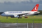 Turkish Airlines, TC-JUD, Airbus A319-132 (21508912492).jpg