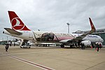 Turkish Airlines (The Year of Troy Livery), TC-JTP, Airbus A321-231 (45253013061).jpg
