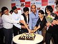 Tusshar Kapoor,Milan Luthria,Vidya Balan,Ekta Kapoor From The DVD launch of 'The Dirty Picture' (17).jpg