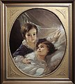 Two children of Tolstoy family by I.Makarov (1854) FRAME.jpg