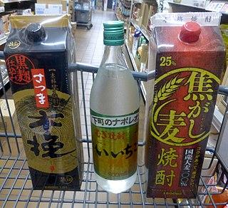 <i>Shōchū</i> Japanese distilled beverage