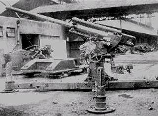Type 4 75 mm AA gun