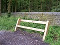 Typical Memorial Seat around the perimeter of Swinsty Reservoir - geograph.org.uk - 474075.jpg
