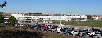 Madison, Nebraska - Tyson Fresh Meats pork plant in Madison