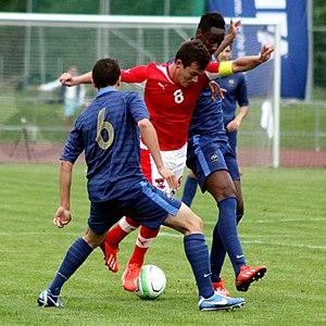 Hadi Sacko - Hadi Sacko (right) playing for France U16 in 2010