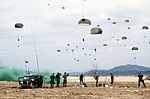 U.S. Army and Korean paratroopers drop over the Yoju airstrip during Exercise Team Spirit '86 DF-ST-87-09680.jpg