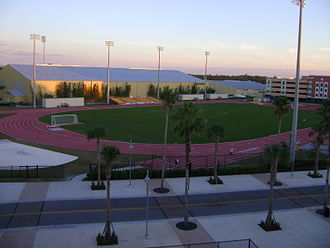 UCF Knights men's soccer - Image: UCF Trackand Soccer Complex