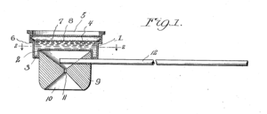 Bubble pipe - Patent drawing