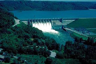 Center Hill Lake - Center Hill Dam and Lake