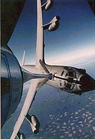 USAF B-52 refueling with a KC-135